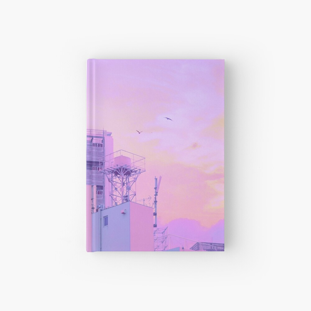 Shibuya Morning Crescent Hardcover Journal