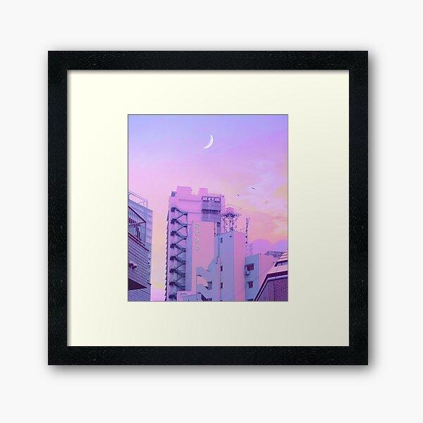 Shibuya Morning Crescent Framed Art Print