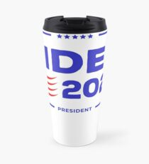 Cool merchandise and apparel for democrats and liberals for the 2020 election. Travel Mug