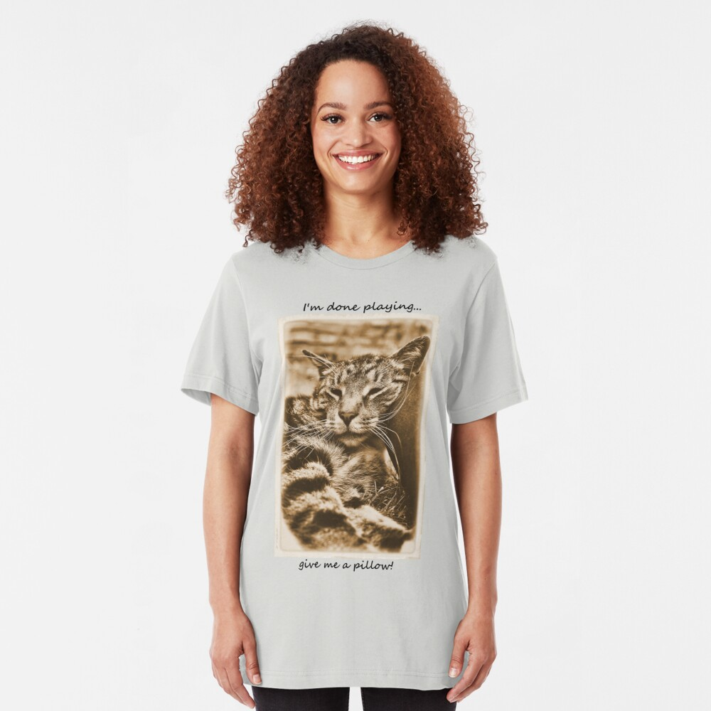 I Kneed a Pillow Slim Fit T-Shirt
