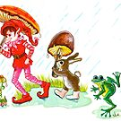 RAIN PARADE by Judy Mastrangelo