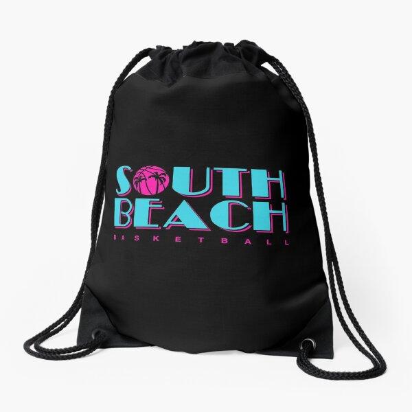 Miami Heat Jersey Drawstring Bags Redbubble