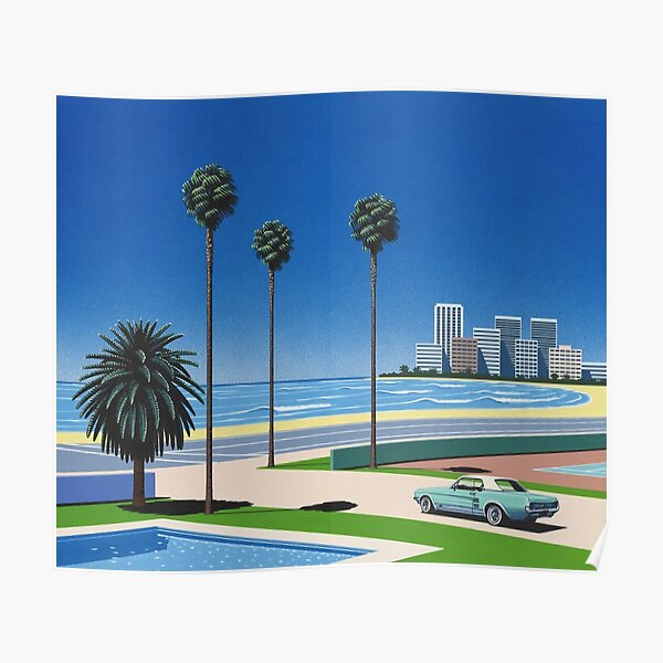 Hiroshi Nagai Art Print Poster Vaporwave Shirt Poster