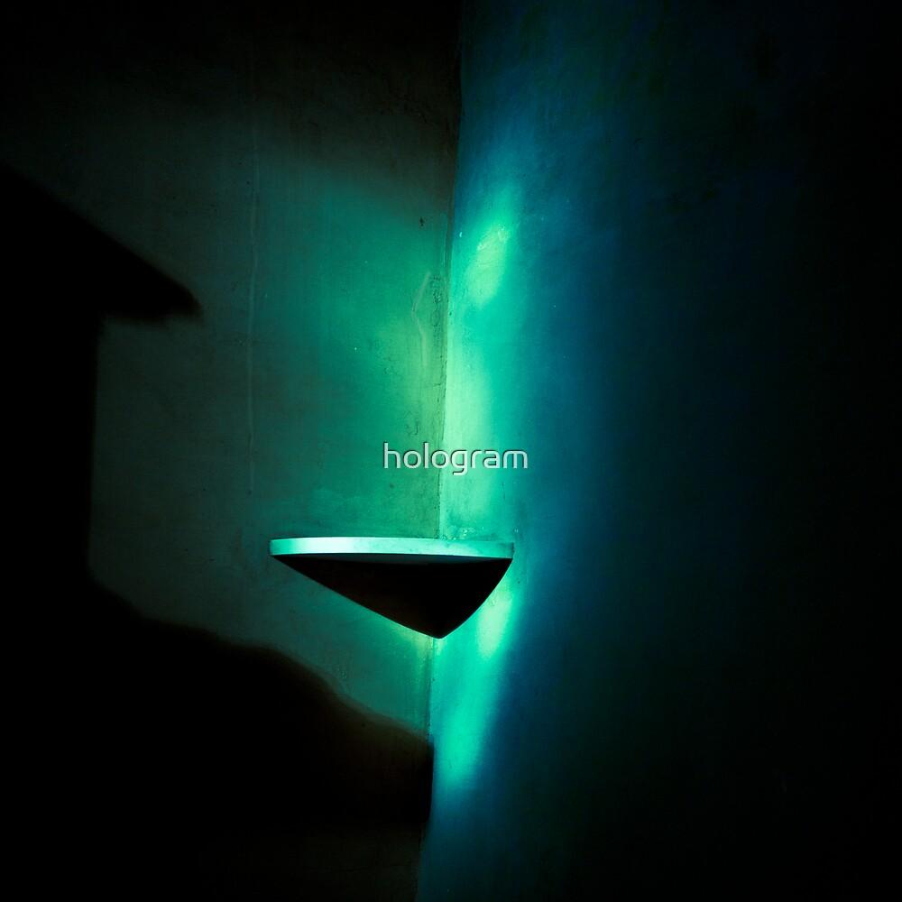 Aurora by hologram