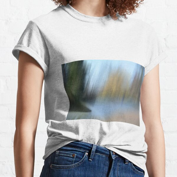 Bedford River Abstract Classic T-Shirt