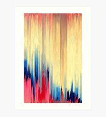 Pixelsortierung 123 Kunstdruck