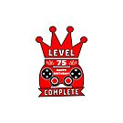 Level 75 Complete by wordpower900