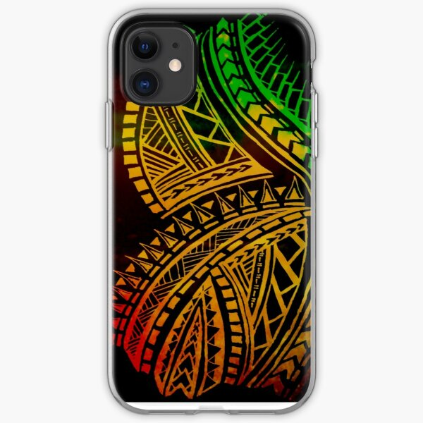 Love for Polynesian Tribal  iPhone Soft Case
