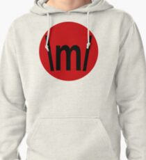 FINS UP RED CIRCLE Pullover Hoodie