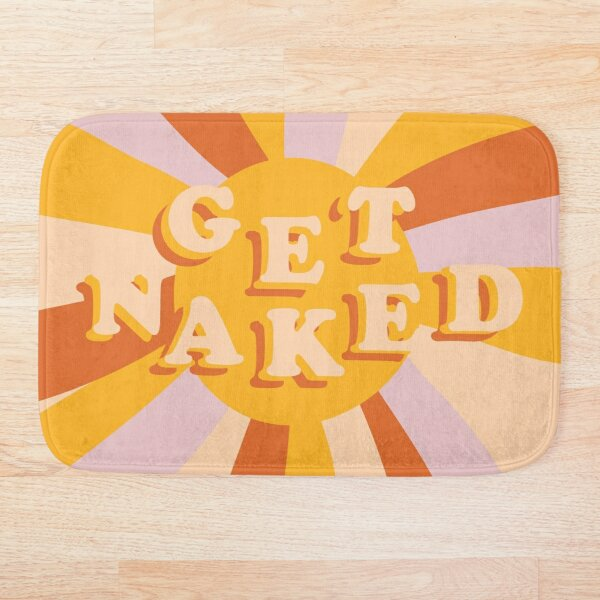 Get Naked Sunshine Bath Mat