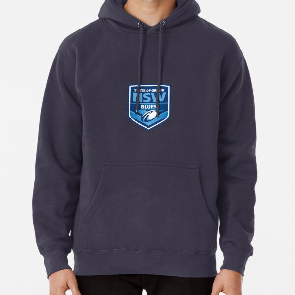 State of Origin NSW Blues Logo Pullover Hoodie