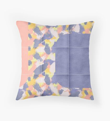 Messy Painted Tiles 01 #redbubble #midmod Floor Pillow