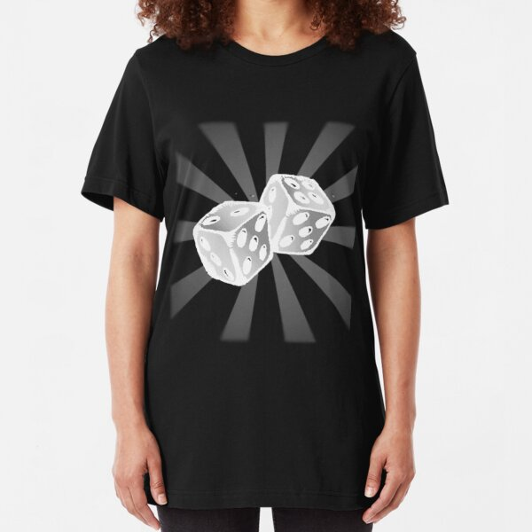 Role the Dice II. Slim Fit T-Shirt