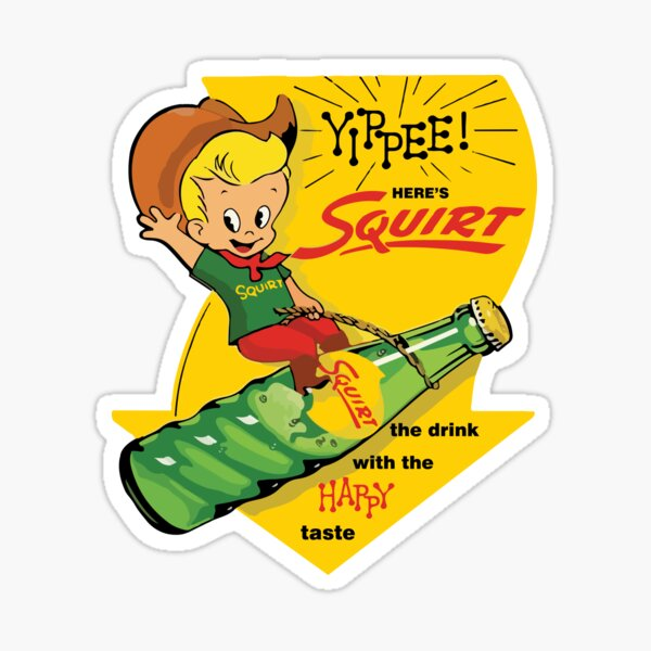 yippee!-squirt-happy Sticker