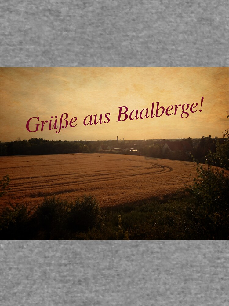 Grüße aus Baalberge, Retro von Gourmetkater