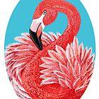 «Flamenco rosado» de Ruta Dumalakaite