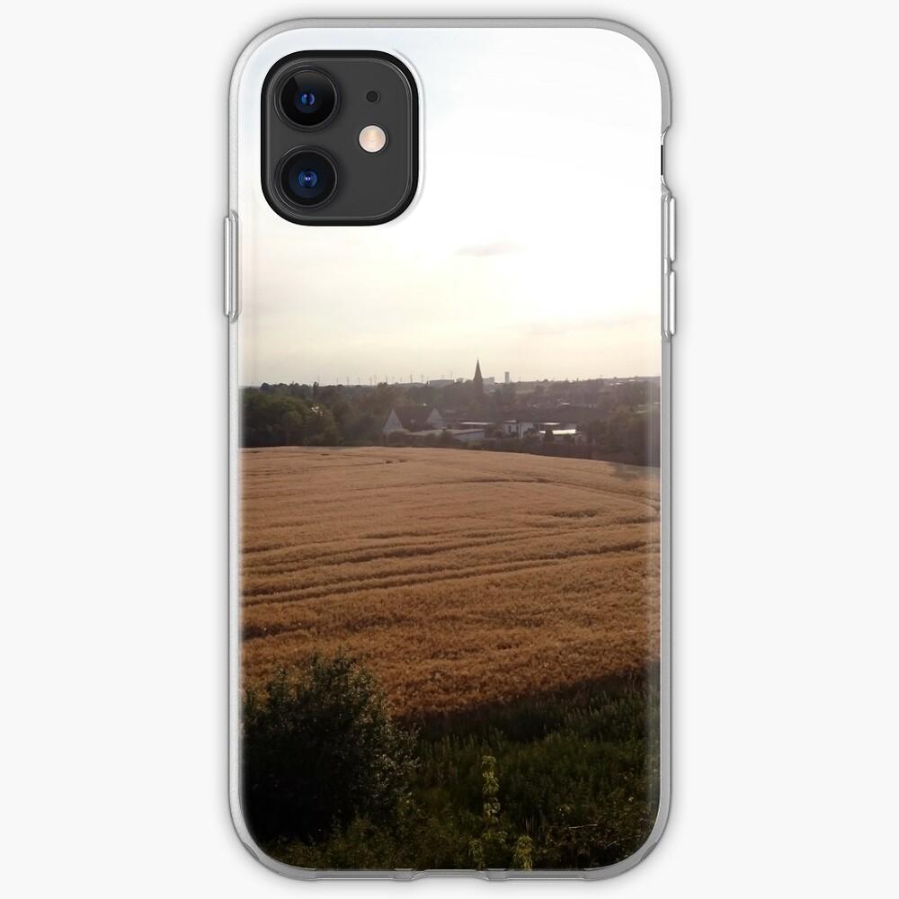 Baalberge, Landschaftsbild iPhone-Hülle & Cover