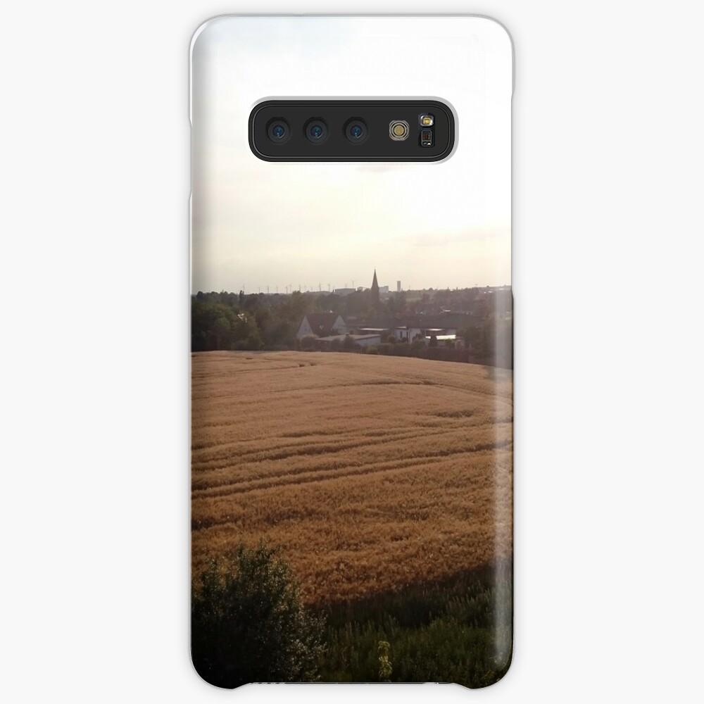 Baalberge, Landschaftsbild Hülle & Klebefolie für Samsung Galaxy