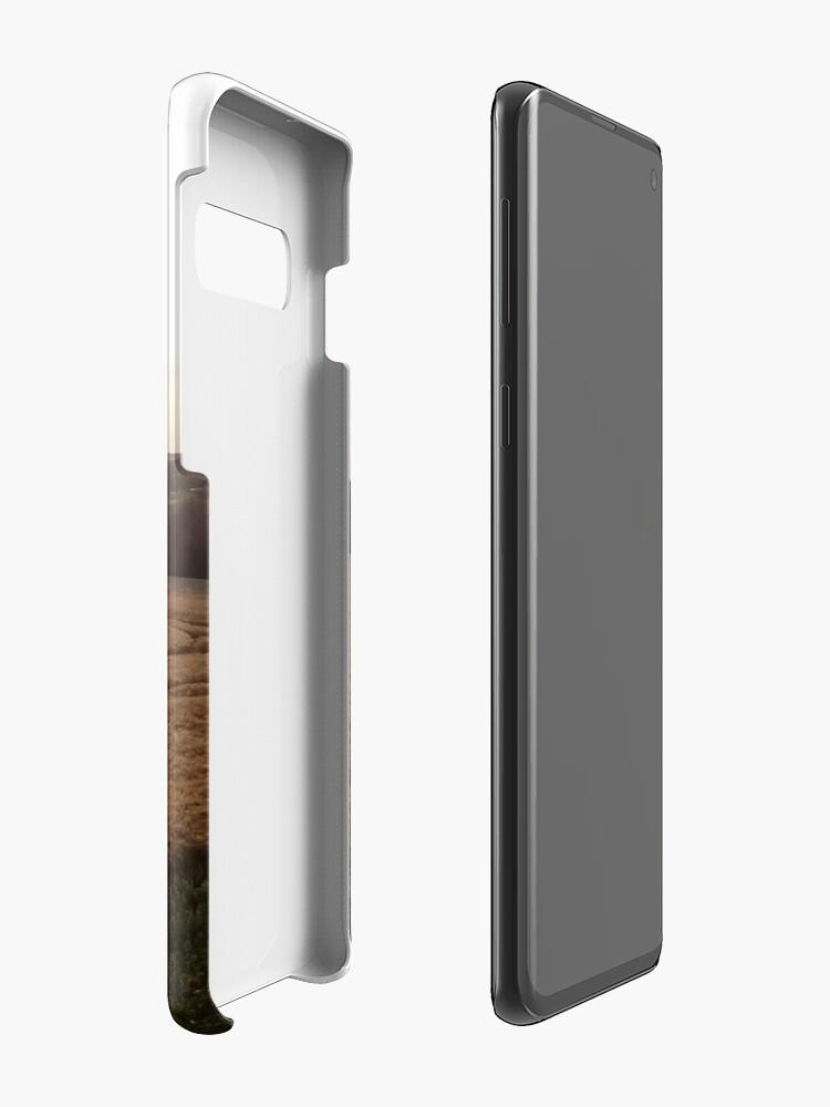 Alternative Ansicht von Baalberge, Landschaftsbild Hülle & Klebefolie für Samsung Galaxy