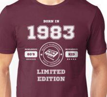 Born in 1983 Unisex T-Shirt