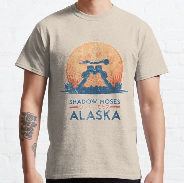 Shadow Moses Island | Metal Gear Solid Classic T-Shirt