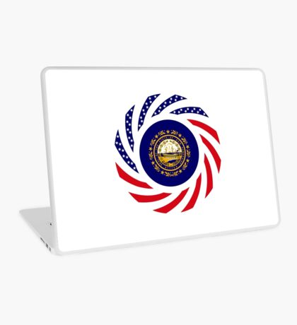 New Hampshire Murican Patriot Flag Series Laptop Skin