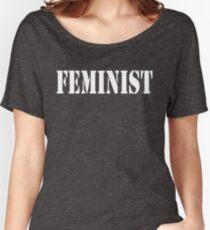 FEMINIST Women's Relaxed Fit T-Shirt