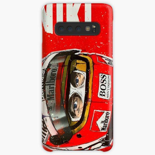 Niki Lauda F1 graffiti painting by DRAutoArt Samsung Galaxy Snap Case