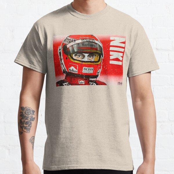 Niki Lauda F1 graffiti painting by DRAutoArt Classic T-Shirt