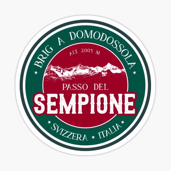 Passo Del Sempione Italy - Switzerland T-Shirt + Sticker Sticker