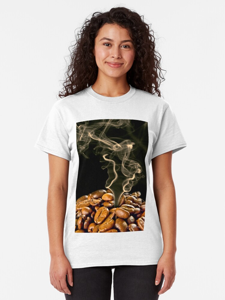 Alternate view of Roasting the beans Classic T-Shirt