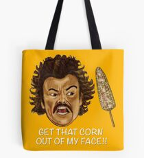 Get that Corn Out of My Face!! Tote Bag