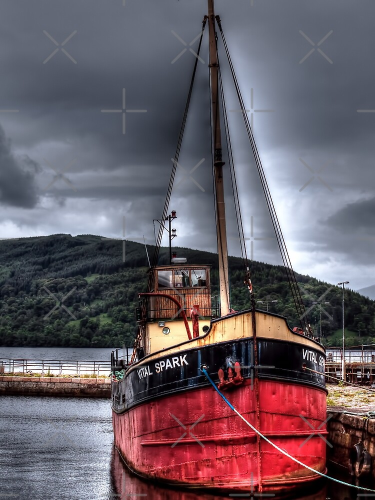 Vital Spark - The Clyde Puffer by Focal-Art