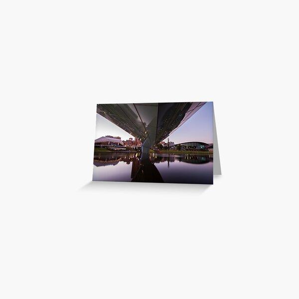 ADELAIDE RIVERBANK PEDESTRIAN BRIDGE Greeting Card