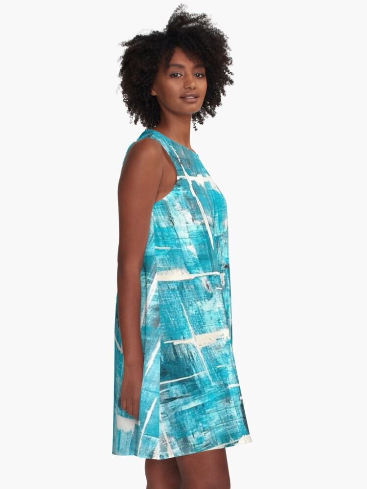 Robe trapèze ''Totally Abstract #2': autre vue