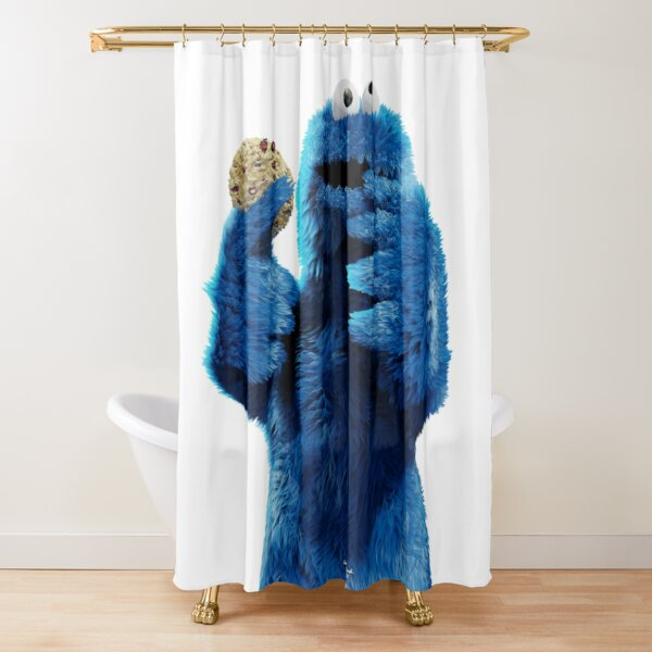 Monster Cookie! Shower Curtain