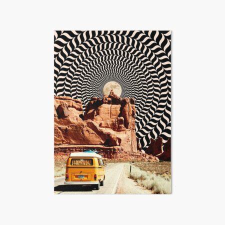 Illusionary Road Trip Art Board Print