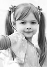 Little Girl **Mona Lisa** by Evita