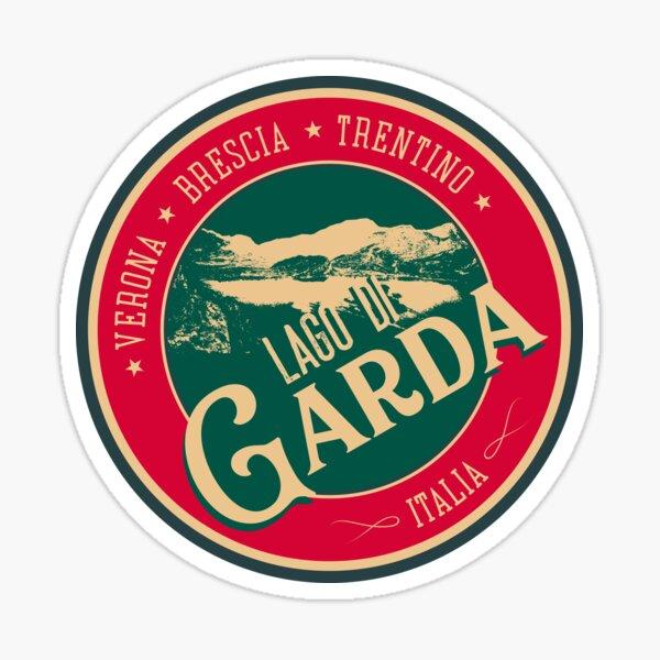 Lago Di Garda, Lake Garda Italy T-Shirt + Sticker Sticker