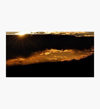 Sunset Sensation Photographic Print