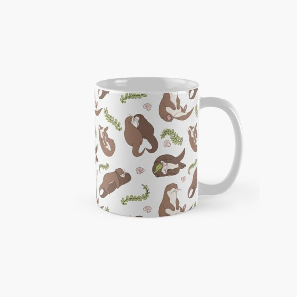 Love with otters Classic Mug