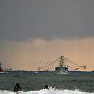 Tweed trawlers (cal image #5) by Odille Esmonde-Morgan