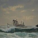 Tweed trawlers (cal image #6) by Odille Esmonde-Morgan