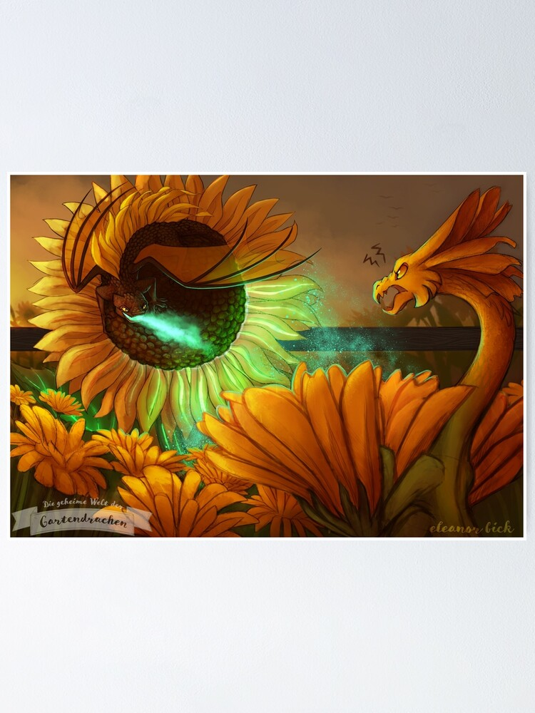 Alternate view of Gardendragons - Midsummer Rivalry Poster