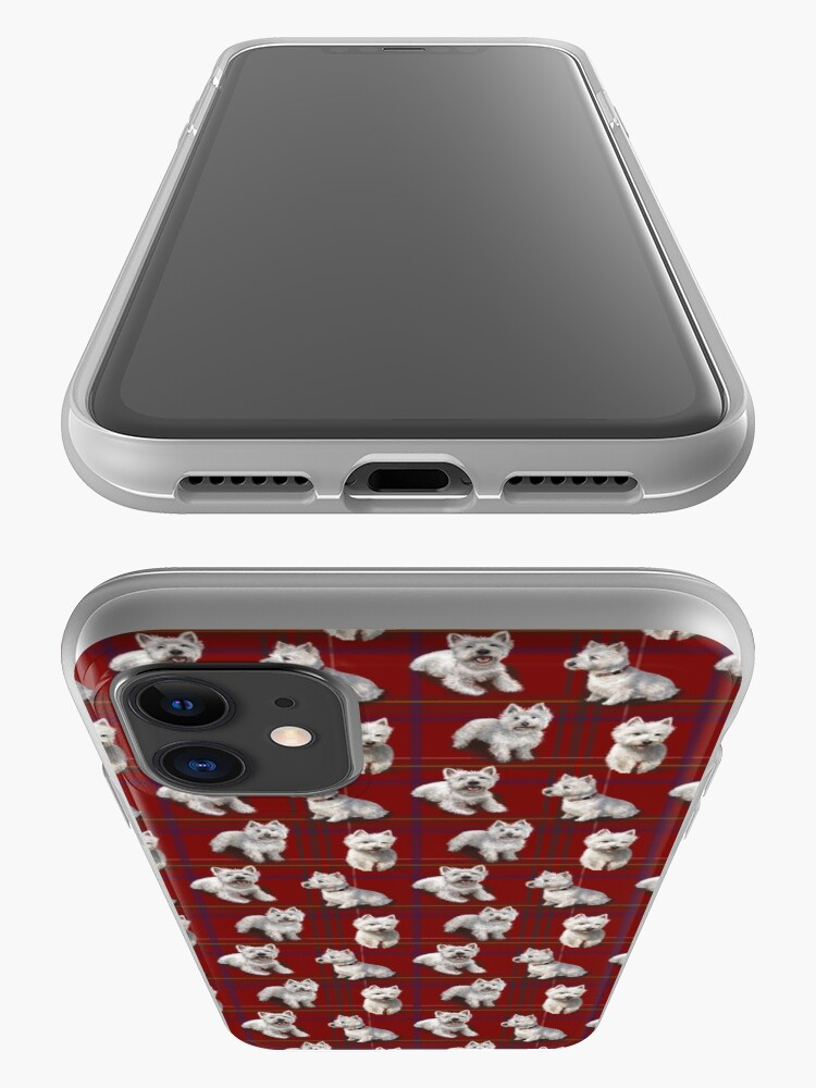Alternate view of West Highland Terrier Westie iPhone Case & Cover