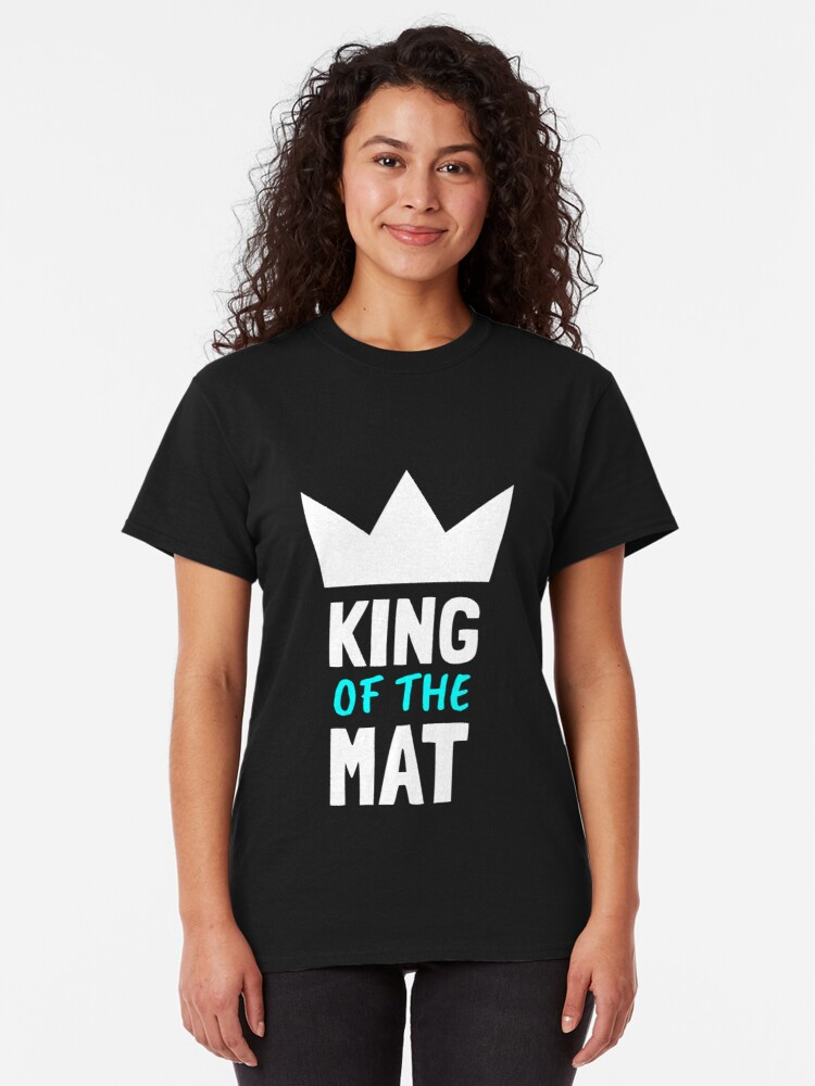 Alternate view of BJJ King Of The Mat Classic T-Shirt