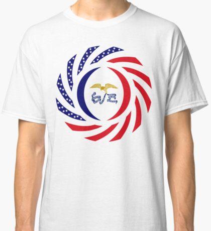 Iowa Murican Patriot Flag Series Classic T-Shirt