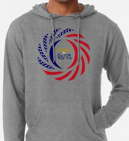 Iowa Murican Patriot Flag Series Lightweight Hoodie