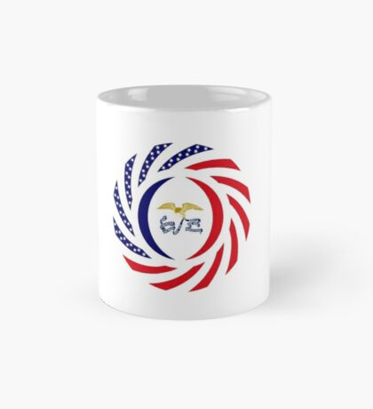 Iowa Murican Patriot Flag Series Mug