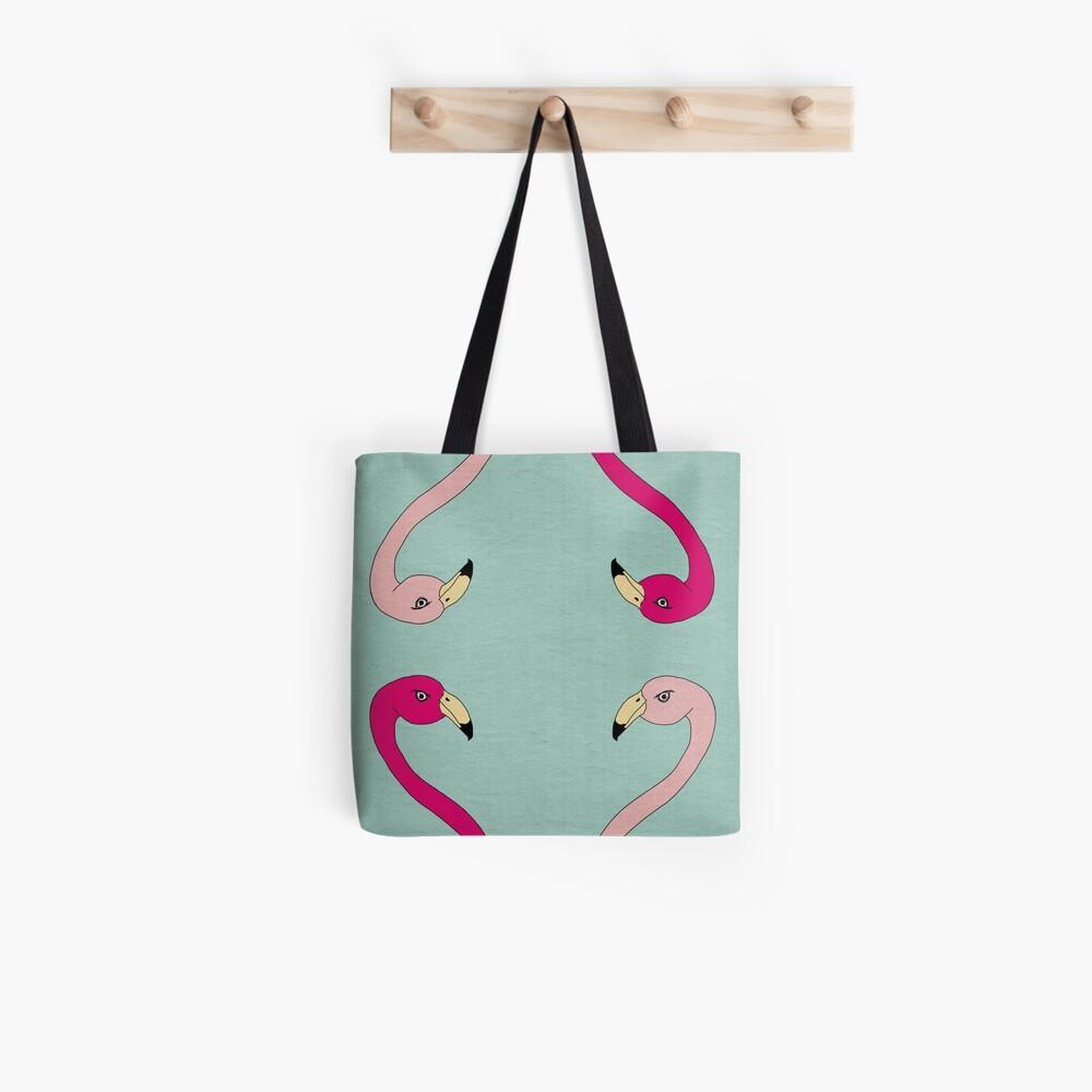 Flamingo Fever Tote Bag